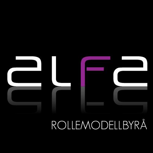 Visuell identitet // ALFA Rollemodellbyrå