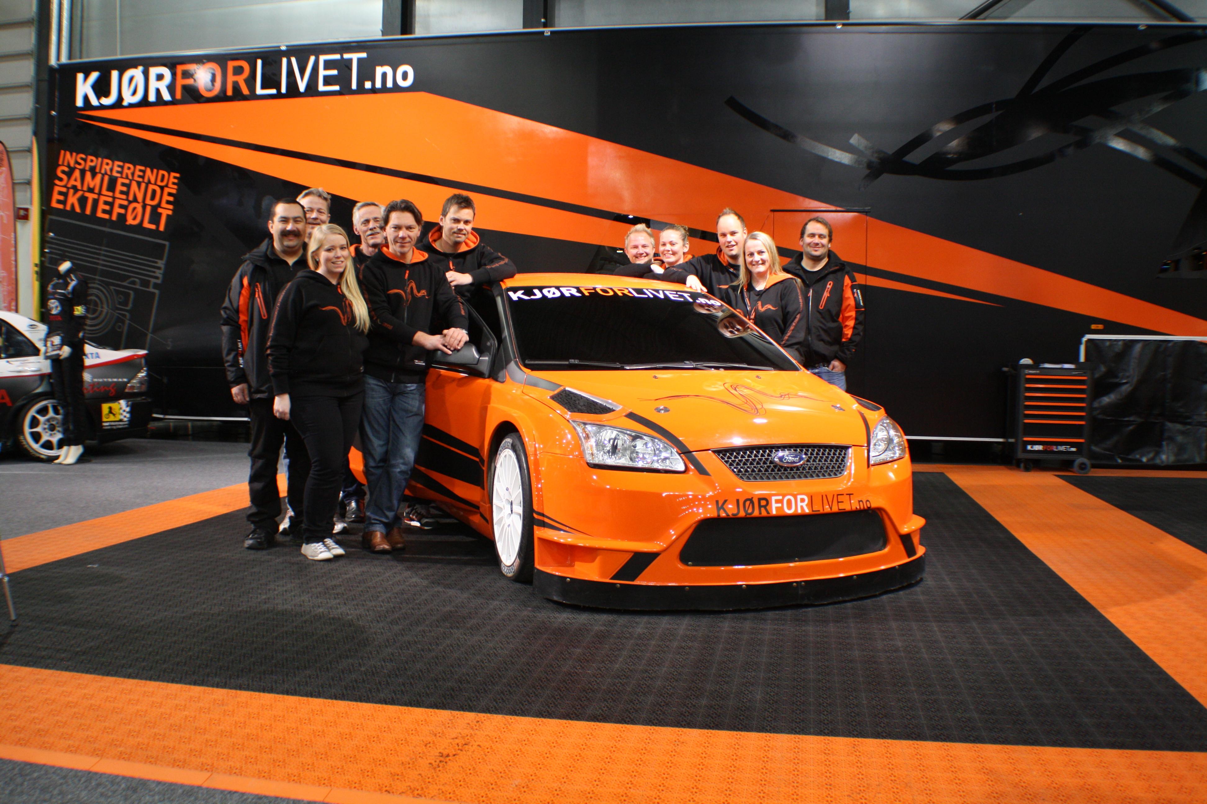 Ninabea og Kjør for livet på Oslo Motorshow