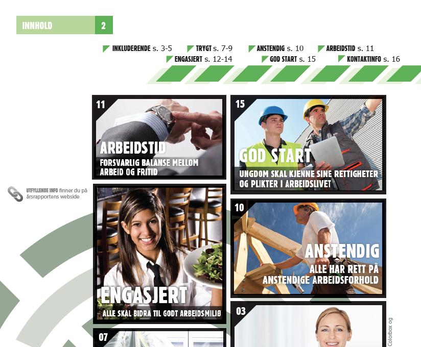 Digital årsrapport // Arbeidstilsynet